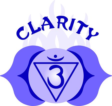 sanskrit: Chakra triangle for Hindu religious sayings and symbols.