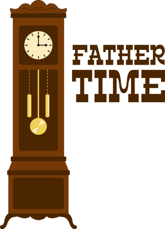 The grandfather clock is a treasured antique.  Use this image in your next design.