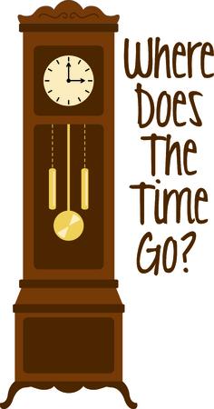441 grandfather clock stock vector illustration and royalty free rh 123rf com free grandfather clock clipart grandfather clock clipart black and white