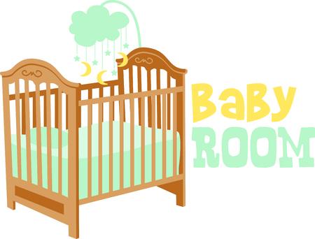 Célébrez cet événement merveilleux et donner un cadeau pour le bébé! Les fiers parents vont adorer les articles qui sont spéciaux pour leur bébé! Banque d'images - 43847016