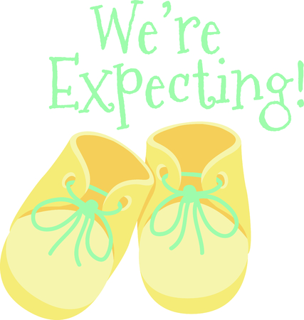accessory: Celebrate this wonderful event and give a gift for the baby!  The proud parents will love items that are special for their baby!