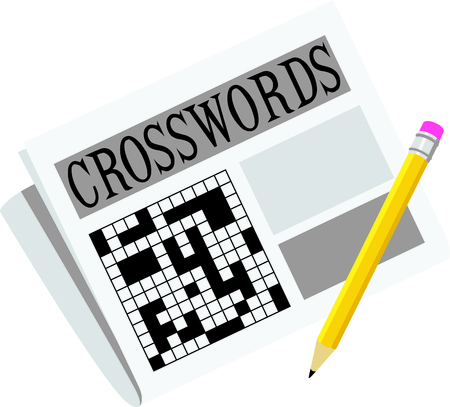 writing  instrument: Use this image of a crossword puzzle in your next design.