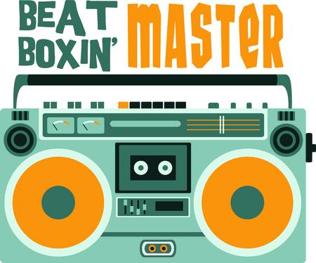 Onthoud de cassette-radio-speler Maakt een perfect cadeau om die dagen te onthouden.
