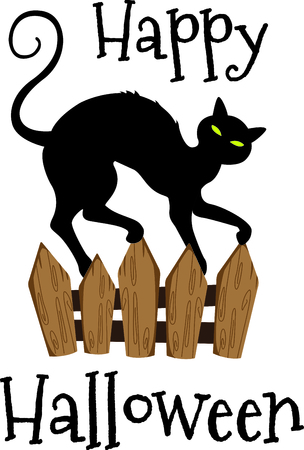 beggar's: This trick or treat pumpkin cat is here to wish you a happy Halloween.  Buy this as a special treat.  Your friends will love it! Illustration