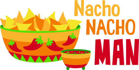chips and salsa: Nachos are the perfect combination for group relaxation!  Give this to your friends and go out in style.  They will love it for happy hour!