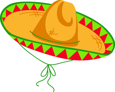 5th: The sombrero is the perfect image for your next fiesta.