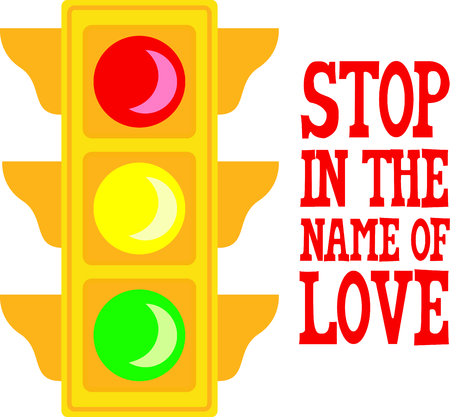 Use this image of a traffic light in your next design.