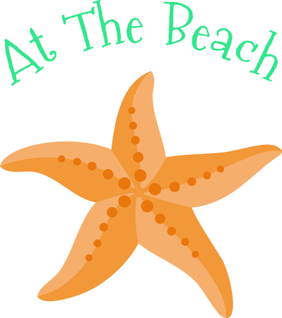 brittle: Use this image of a starfish in your next ocean design.