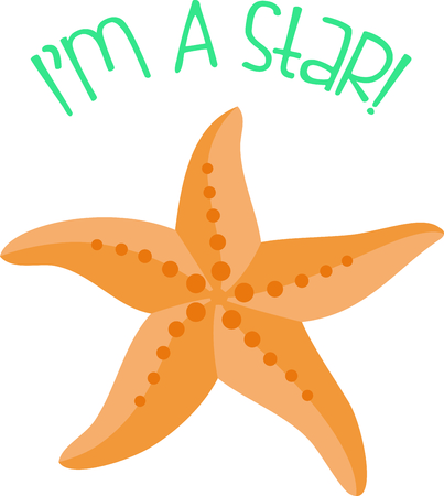 Use this image of a starfish in your next ocean design.