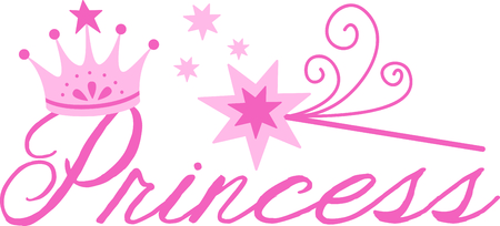 royal person: Get this princess crown and wand to give to a little girl for her birthday.