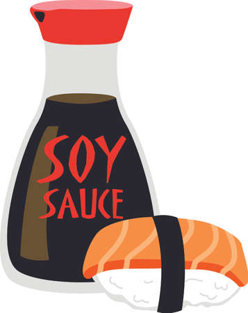 soy sauce: