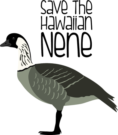 Use this image of a goose in your next design.