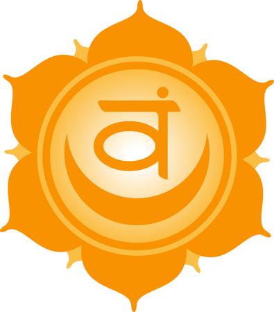 simbolos religiosos: Utilice este círculo subtítulo en blanco para dichos y símbolos religiosos de Oriente. Vectores