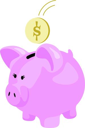 一銭の節約は一銭も得ています。 今すぐにペニーを保存する子を抱かせます。 写真素材 - 43905684