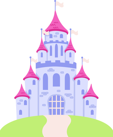 chateau: Get this princess castle to give to a little girl for her birthday.