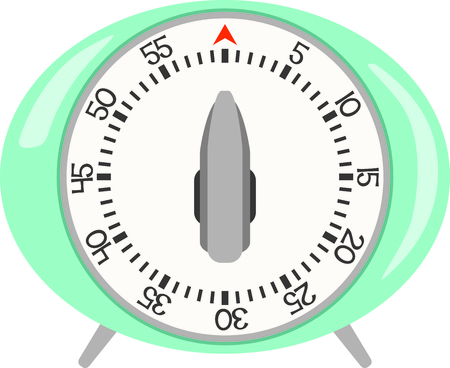linens: Use this kitchen timer design for linens and dish towels.