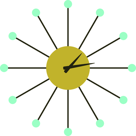 Share your timelessness with this clock design.