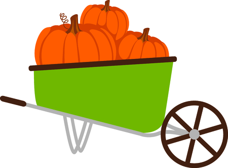 Fall is the season to give thanks for the harvest of pumpkins.