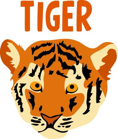 team spirit: Show your team spirit with this tiger Illustration