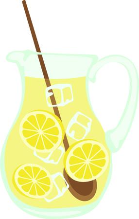 Kids enjoy freshly made lemonade on a hot summer afternoon.