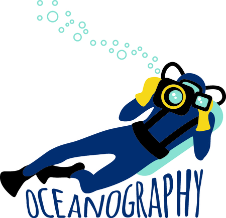 oceanography: The perfect image for a gift to a diver.  They will love your design.
