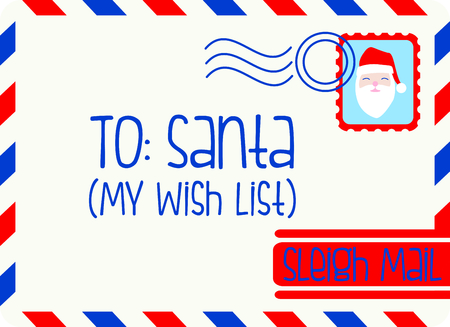saint nick: Use this letter to Santa for a special child at Christmastime.