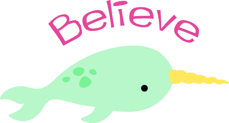 marine mammal: Get this narwhal image for your next design.