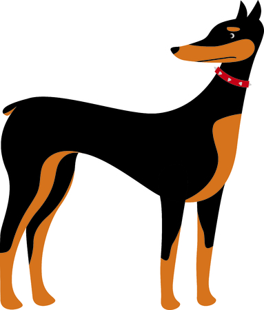 pure bred: Show off your favorite dog with this cute design.