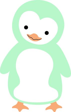 flightless: Get this penguin image for your next design. Illustration
