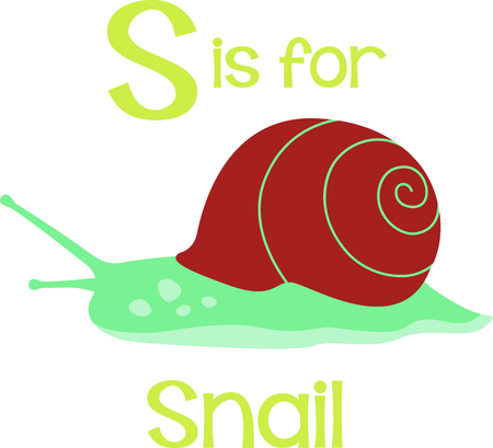 freshwater snails: Get this cute snail image for your next design.