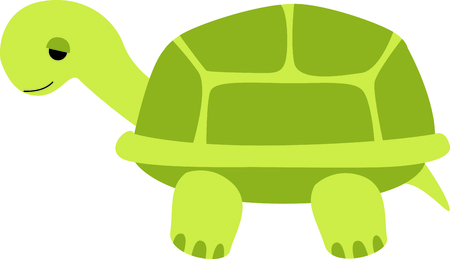 reptilian: Get this cute turtle image for your next design. Illustration