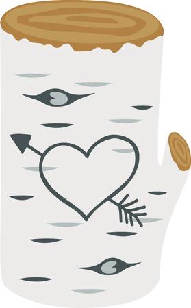 ブランチでこのキュートなハートは次のバレンタイン デザインの完璧なイメージです。