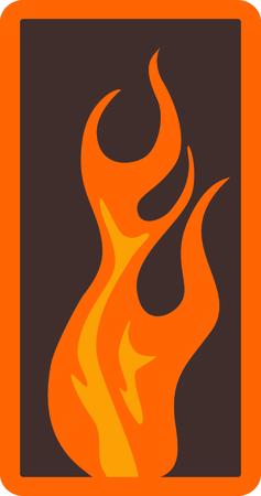 이 불꽃 디자인은 고전적인 요소 중 하나를 의미합니다. 불. 멋진 세트의 수건을 꿰맬 수있는이 세트의 다른 디자인을 찾으십시오.