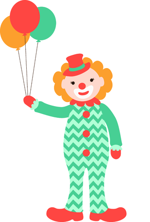 entertainer: Get this circus clown image for your next design. Illustration