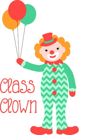 buffoon: Get this circus clown image for your next design. Illustration