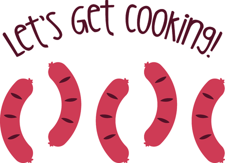 Hot dogs are a great food to cook on the grill.