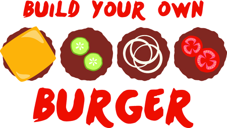Hamburgers are loved by everyone.