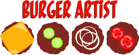 loved: Hamburgers are loved by everyone.