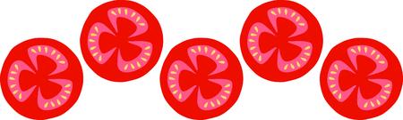 おいしいトマトは、夏の時間食べ物お気に入りです。