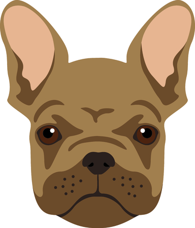 pawprint: Have a french bulldog friend with you always with this little dog.