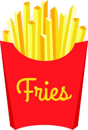 Patatine fritte complimento un ottimo hamburger. Archivio Fotografico - 43867413