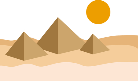 Celebrate egyptian culture with a view of the pyramids.
