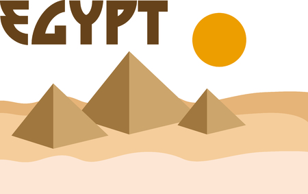 egyptian culture: Celebrate egyptian culture with a view of the pyramids.