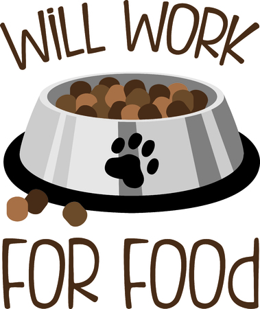 treats: Give your dog some special treats. Illustration