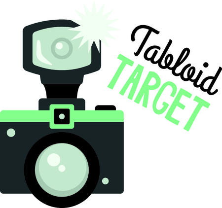 tabloid: If you enjoy the movies you will love having your own paparazzi camera.