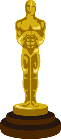statuette: If you enjoy the movies you will love having your own oscar.