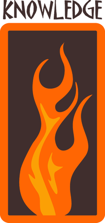 signifies: This flame design signifies one of the classic elements; fire.  Look for the other designs of this set to stitch out a lovely set of towels.