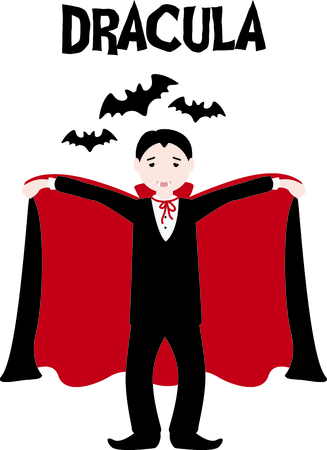 fang: Decorate for Halloween with scary dracula.
