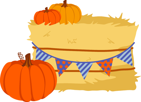 L'autunno è la stagione per rendere grazie per il raccolto di zucche. Archivio Fotografico - 43867598