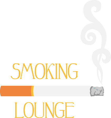 Questa sigaretta fumo può essere utilizzato per detti positivi e negativi. Archivio Fotografico - 43867603